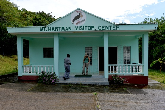 Mt Hartman Visitor Center