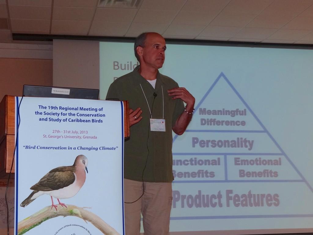 Skip Glenn, Associate Professor of Marketing, talking about basics of branding
