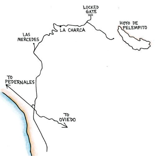 Aceitillar (Map by Dana Gardner)