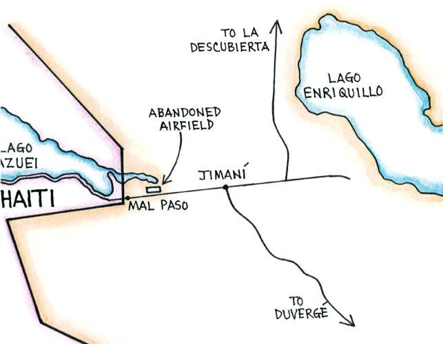 Jimaní (Map by Dana Gardner)